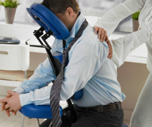 Corporate Chair Massage For Employee Performance